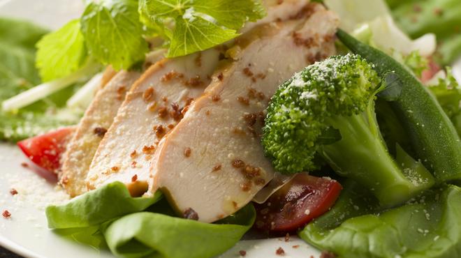 ケントス - 料理写真:旬の野菜を使用した、フレッシュサラダ☆