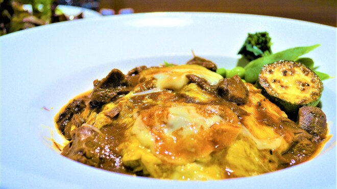 QUCHI - 料理写真:オムライスランチセット~Omelette with butterrice~