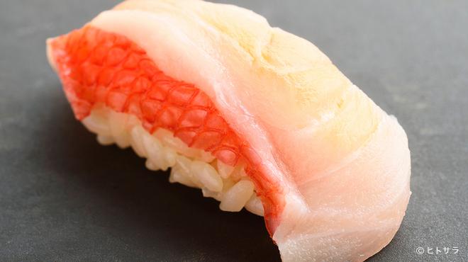 すし 喜邑 - 料理写真:金目鯛