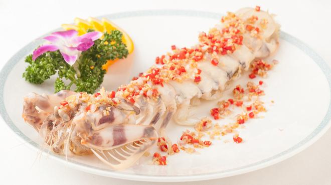 老香港酒家京都 - 料理写真:香港式特大シャコのガーリックチップ揚げ