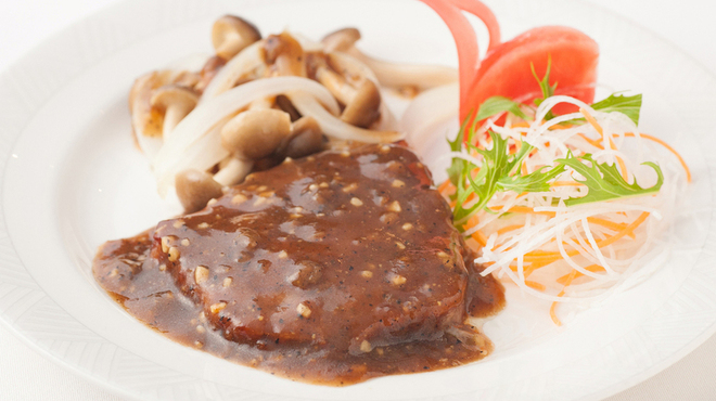 老香港酒家京都 - 料理写真:和牛の中国風ステーキ