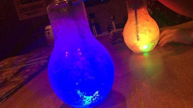 楽園 - 料理写真:◆今、話題の電球ドリンクあります!◆