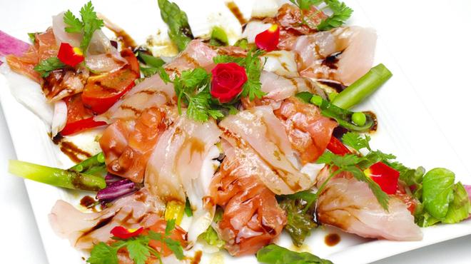 日本橋たいめいけん - 料理写真:鮮魚のカルパッチョ