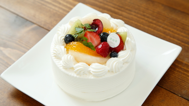 patisserie piece - 料理写真:バースデーケーキ