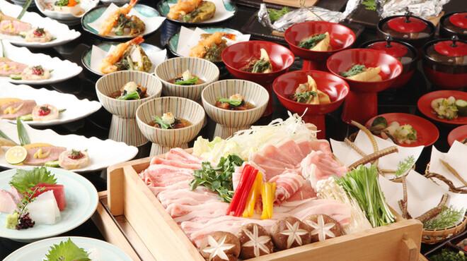 吉里 - 料理写真:特別コース 国産秀麗豚のせいろ蒸しコース 4000円