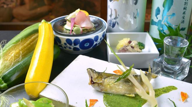 神楽坂 おいしんぼ - 料理写真:夏の味覚7月限定おいしんぼコース