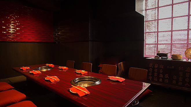 牛國 - 内観写真:【人気の離れ風個室】落ち着いた空間で楽しいお食事をお楽しみください★