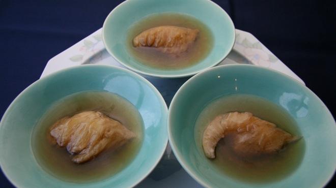 海鮮名菜 香宮 - 料理写真:三種フカヒレの煮込み 上湯仕立て