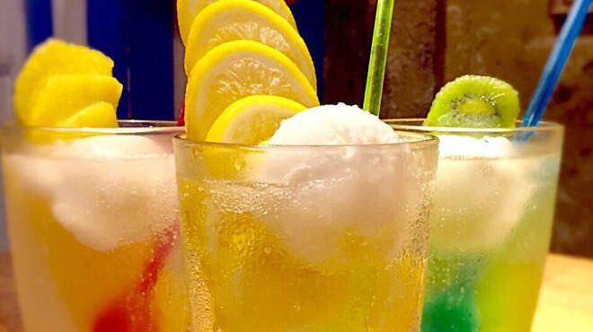 魚介ビストロsasayakitokito - ドリンク写真:氷結レモン・キウイ・パイナポーサワー