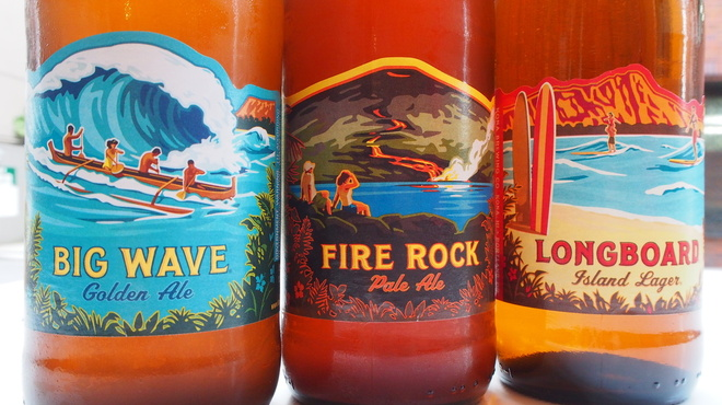 サクラカフェ神保町 - 料理写真:ハワイの地ビール コナビール
