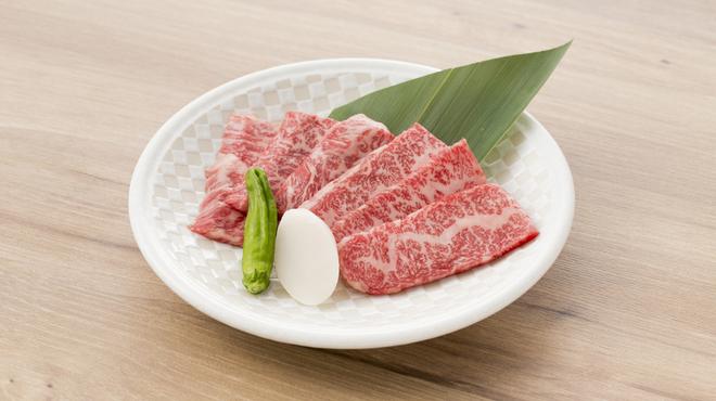 美食焼肉 葉菜 produced by TORAJI - 料理写真:黒毛和牛上カルビ