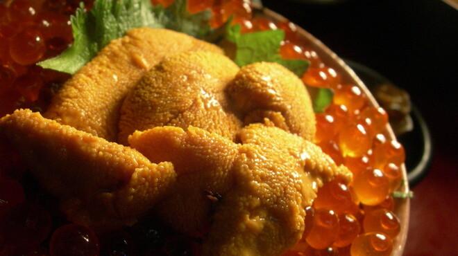 麻布十番 さくら 鳥居坂 - 料理写真:海の宝石!うにいくら丼