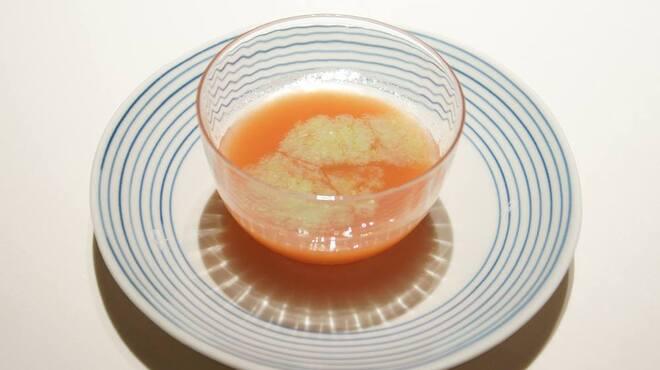 メゾン・ド・ユーロン - 料理写真:冷製 完熟トマトのスープ