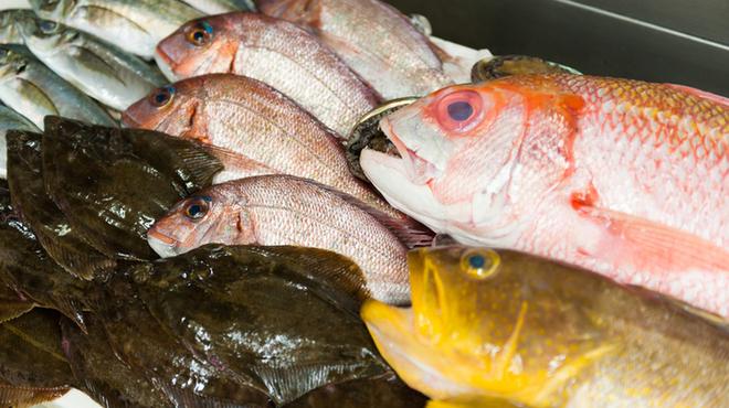 個室 魚と黒豚 まん - 料理写真: