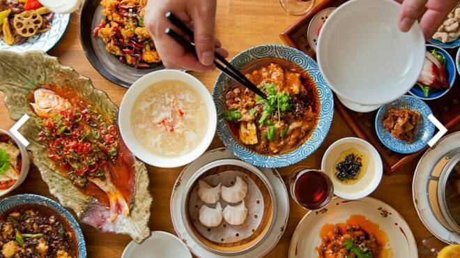四川料理と小吃 奏煖 福島 - 料理写真: