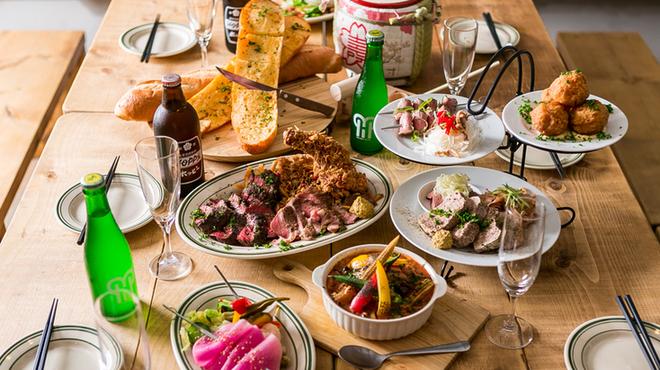 チャコール スタンド ノゲ - 料理写真:大人気お祭り宴会コース