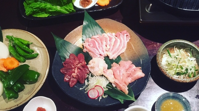 大分の鳥料理とお酒 如水 - 料理写真:New! 耶馬渓鶏のサムギョプサルコース始めました◎