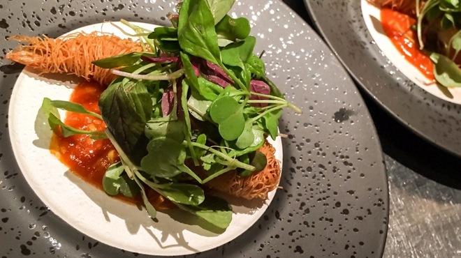 RAKUSUI - 料理写真:フランス料理のような海老チリ