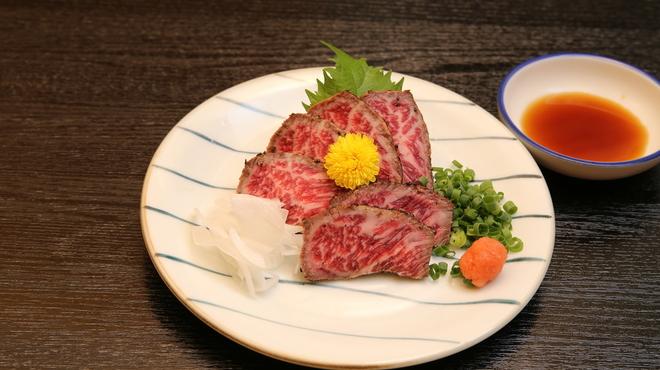 安兵衛 - 料理写真:黒毛和牛たたき