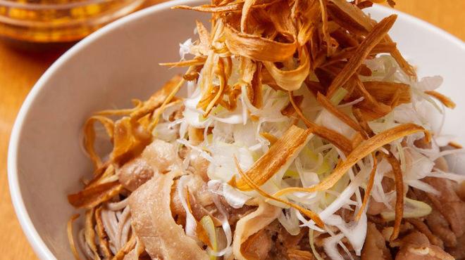 ベルサイユの豚 - 料理写真:ベル豚肉SOBA