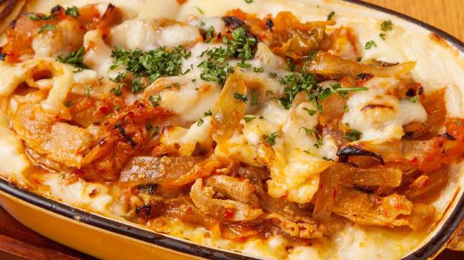 ベルサイユの豚 - 料理写真:クリームチーズドリア