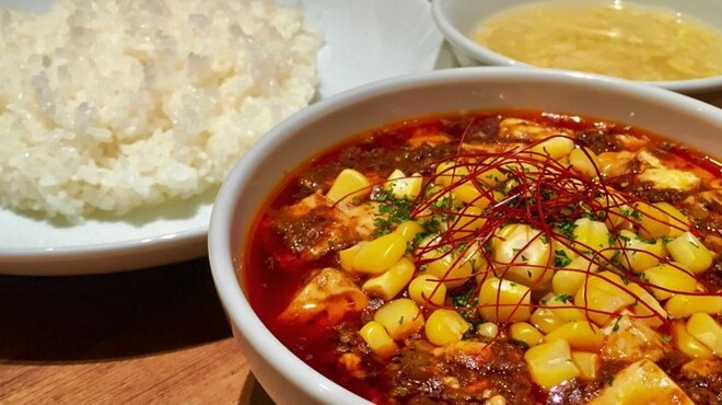 麻SHIBIRE - 料理写真:マーボーカレー