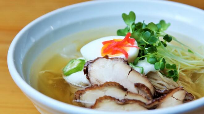 麺や七福 - 料理写真:冷やしとろろそば