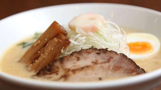 麺や七福 - 料理写真:『味噌ラーメン』三種の味噌をブレドしてコク深い味わい