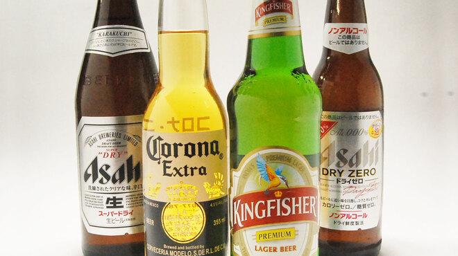 インディアンキッチン ラソイ - ドリンク写真:いろいろなビール