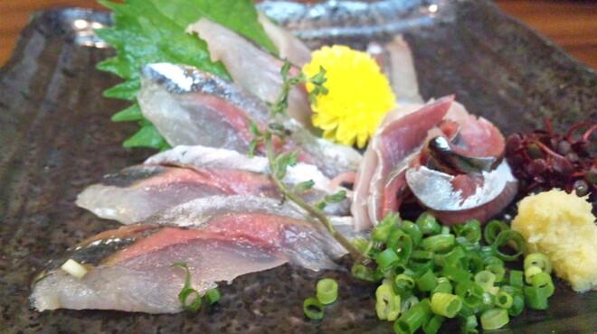 虎家 - 料理写真:さんま刺