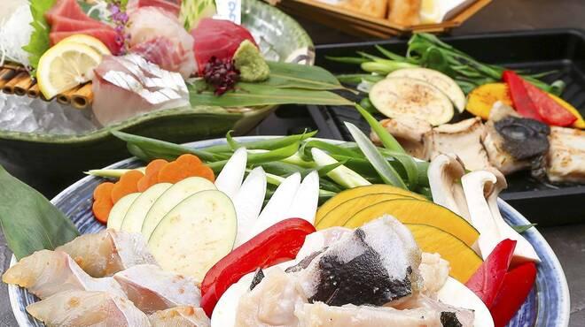 近畿大学水産研究所 - 料理写真:~近大クエ~焼きクエコース~