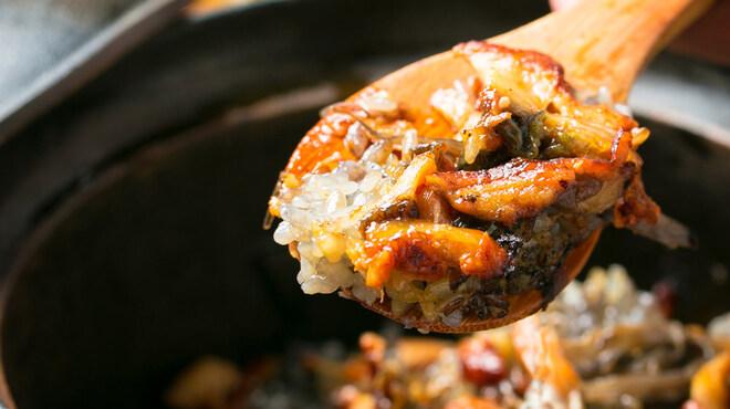 神楽坂 かねいち - 料理写真:うなぎとごぼうの炊込御飯