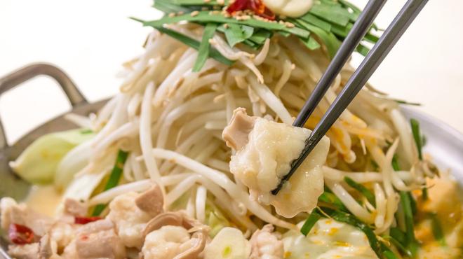 驛亭 - 料理写真:もつ鍋