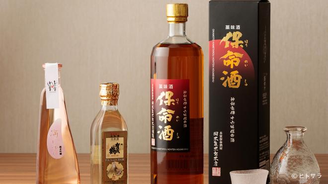 銀座 遠音近音 - ドリンク写真:お店オリジナルのお酒を始め、広島県の日本酒を数多く用意