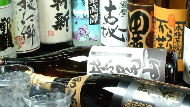 全席個室居酒屋 柚のしずく - ドリンク写真:日本酒・焼酎も充実の品揃え♪