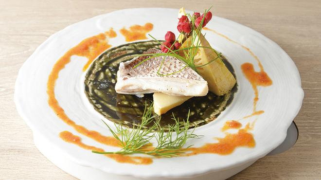 お箸で食べる和フレンチ 波波 - メイン写真: