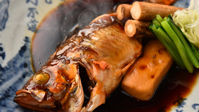 盃屋かづち - 料理写真:日替わり鮮魚の煮付