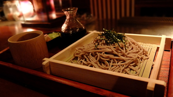 dining bar 古酒楽 - 料理写真:ざる蕎麦