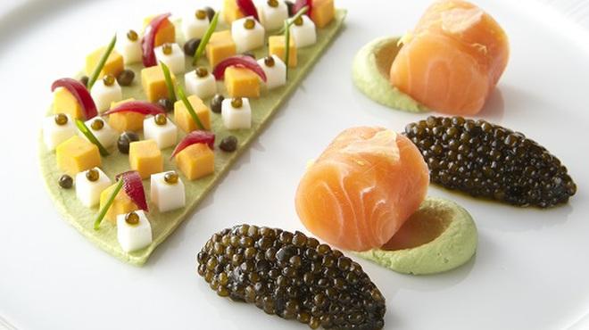 ロオジエ - 料理写真:LE CAVIAR OSCIÈTRE