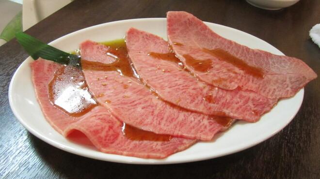 焼肉グレート - 料理写真:創業以来、不動の人気NO,1希少部位 ミスジ 1900円(税別)