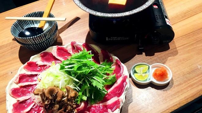 そば 俺のだし - 料理写真:「俺の鴨鍋」始めました!しゃぶしゃぶしてください。