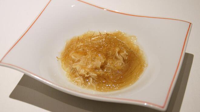 メゾン・ド・ユーロン - 料理写真:いろいろキノコのフカヒレあんかけ