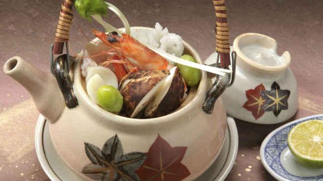 大志満 椿壽 - 料理写真:秋の味覚「松茸の土瓶蒸し」