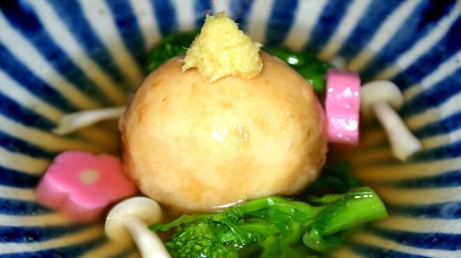 亘 - 料理写真:百合根饅頭