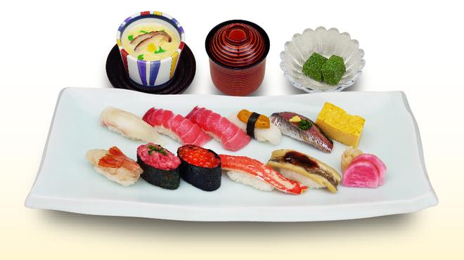 築地寿司清 - 料理写真:特上寿司