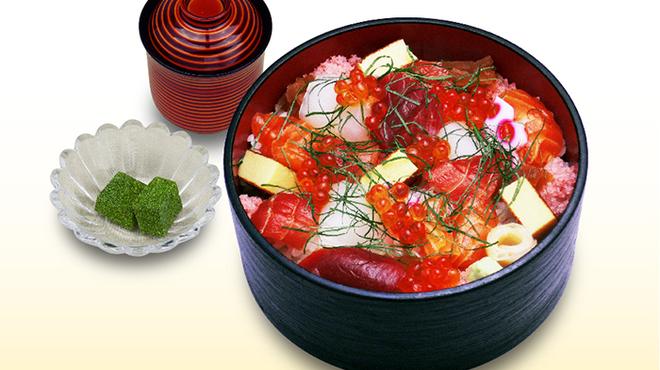 築地寿司清 - 料理写真:づけばらちらし(ランチ)