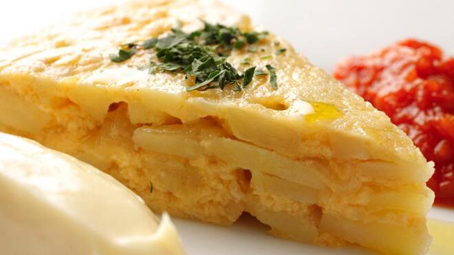 赤坂スペインクラブ アラ - 料理写真:スペイン風オムレツ