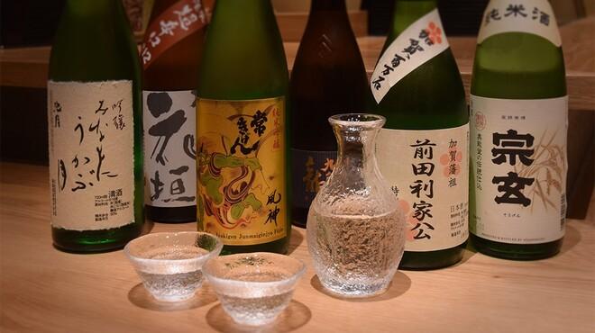 金沢まいもん寿司 珠姫 - ドリンク写真:北陸の地酒各種