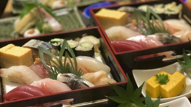 魚こう鮨 - 料理写真:膳3980円握り鮨メインのコース