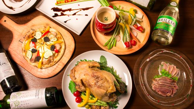 地鶏と個室 肉バル チキンギャング - メイン写真:
